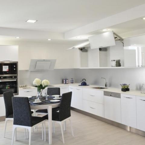 Cozinha Branco Estelar