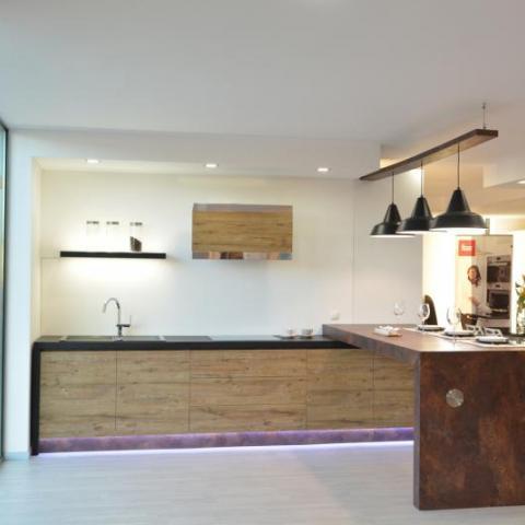 Cozinha Wood Natur